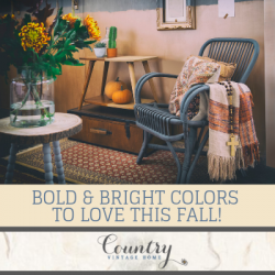 Bold And Bright Colors To Love This Fall!
