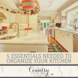 5 Essentials Needed to Organize Your Kitchen