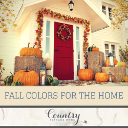 Fall Colors for the Home
