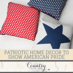 Four Patriotic Home Decor Styles To Show Your American Pride