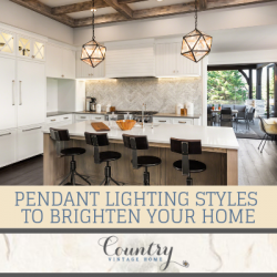 Pendant Lighting Styles to Brighten Your Home