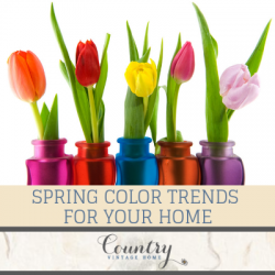 Spring Color Trends For Your Home