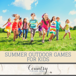 5 Fun Summer Outdoor Games for Kids