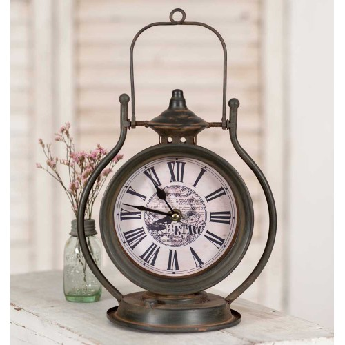 Retro Vintage Tabletop Clock