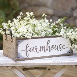 "Rustic ""Farmhouse"" Storage Box"