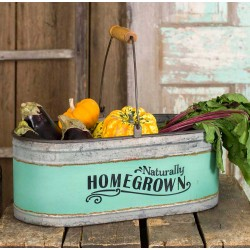 "Rustic ""Homegrown"" Bucket"