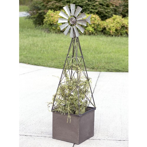 Large Windmill Planter