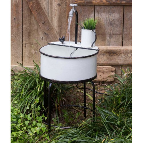 Outdoor Garden Sink Fountain