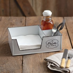 Farm to Table Napkin Caddy