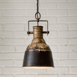 Industrial Metal Pendant Light