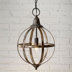 Sphere Metal Pendant Light