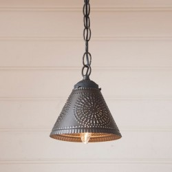 Crestwood Shade Light in Kettle Black