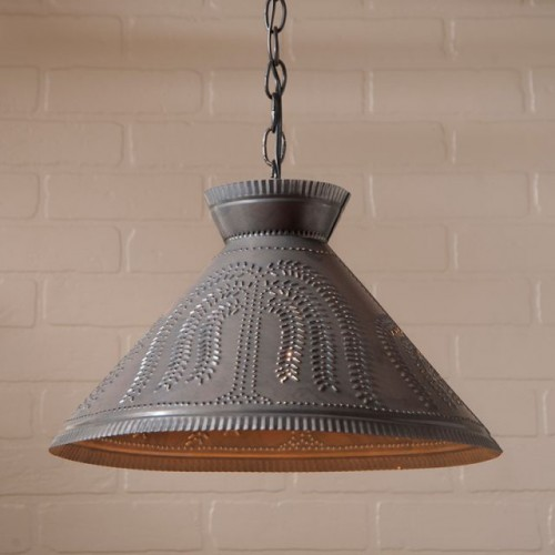 Roosevelt Shade Light with Willow in Kettle Black