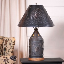 Tinner's Revere Lamp with Shade