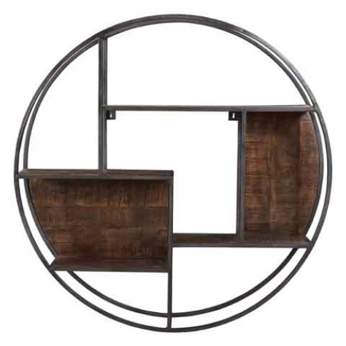 Loraine Round Wall Display Shelve