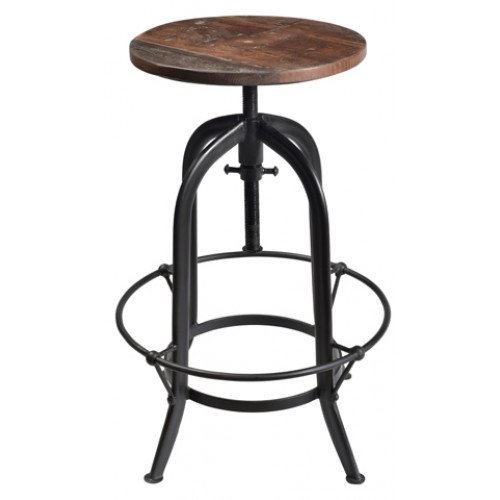 Adamsville Rustic Pub Stool (adjustable Height)