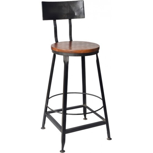 Holliday Iron Back Bar Chair (seat Size 15)