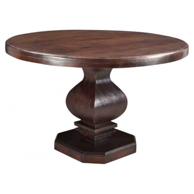 Rockwell Pedestal Round Dining Table 48\