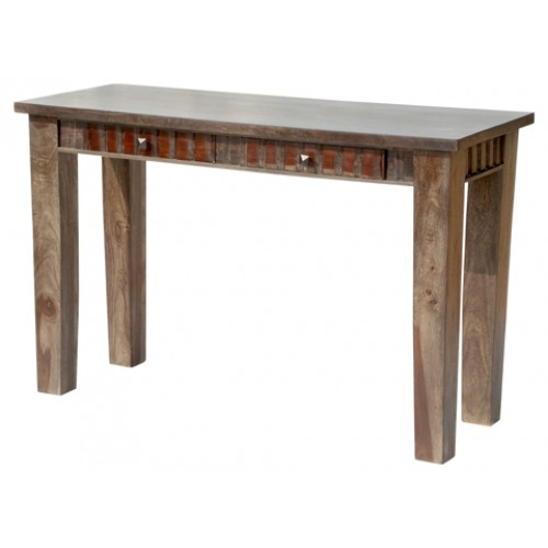 Woods 2 Drawer Farmhouse Console Table