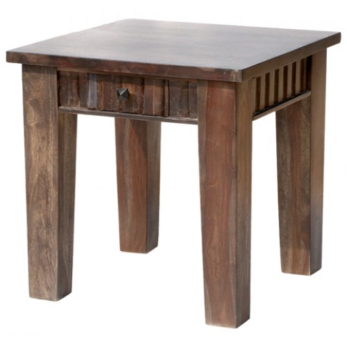 Woods 1 Drawer Farmhouse End Table