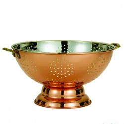 Décor Copper Footed Colander/Centerpiece