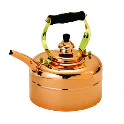 Tri-Ply Copper Windsor Whistling Teakettle, 3 Qt