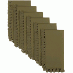 Cassidy Olive Napkin Set Of 6 18x18