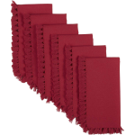 Cassidy Red Napkin Set Of 6 18x18