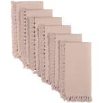 Cassidy Taupe Napkin Set Of 6 18x18
