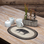 Sawyer Mill Pig Jute Place mat Set of 6 12x18