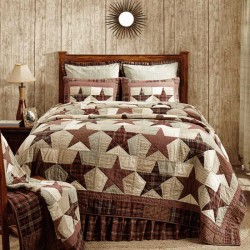 Abilene Star Quilt - Luxury King