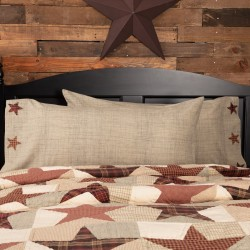 Abilene Star King Pillow Case Set of 2