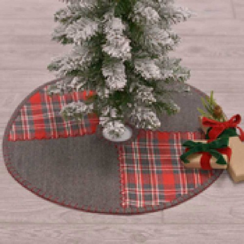 Anderson Patchwork Mini Tree Skirt 21