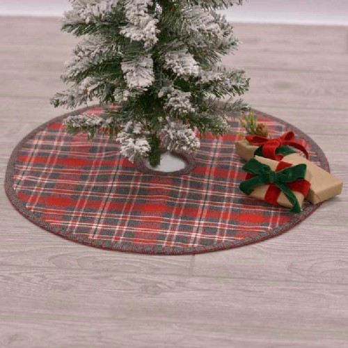 Anderson Plaid Mini Tree Skirt 21""