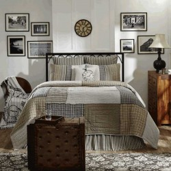 Ashmont Primitive Luxury King Quilt