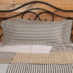 Ashmont Ticking Stripe King Pillow Case Set of 2