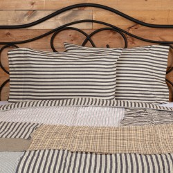 Ashmont Ticking Stripe Standard Pillow Case Set of 2
