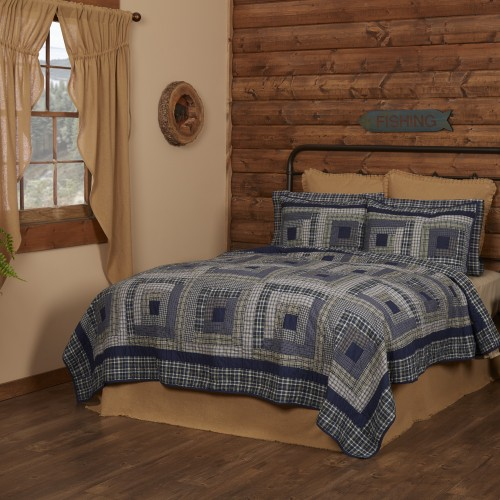 Columbus Twin Size Lodge Quilt