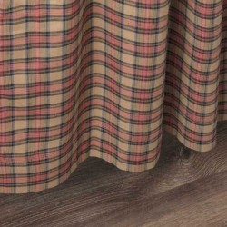 Crosswoods Country Plaid Curtains