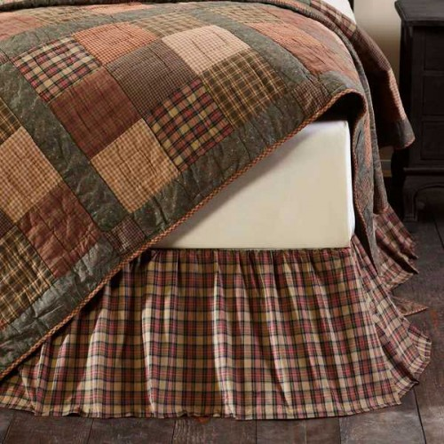 Crosswoods Bed Skirt Queen
