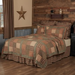 Crosswoods Primitive Quilt - California King