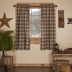 Dawson Star Primitive Curtain Panels Short Set of 2 63x36