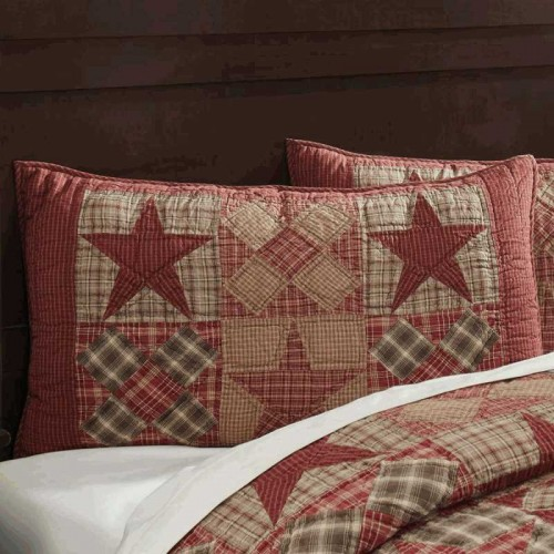 Dawson Star Pillow Sham - King