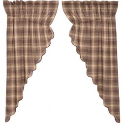 Dawson Star Primitive Prairie Curtain Set of 2 63x36x18
