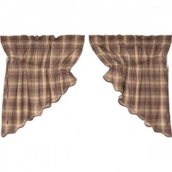 Dawson Star Prairie Swag Curtains Set of 2 36x36x18