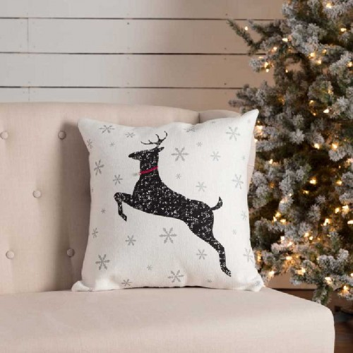 Emmie Deer Pillow 18x18