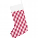 Emmie Red Patch Stocking 12x20