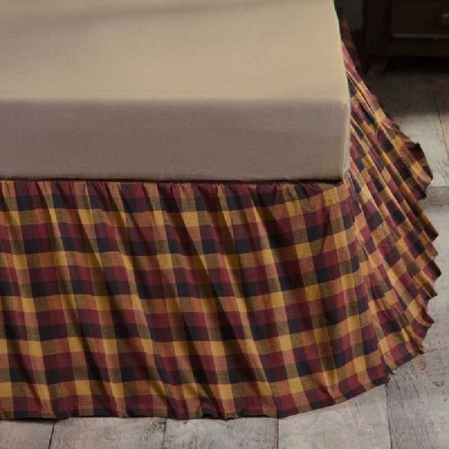 Heritage Farms  Bed Skirt - king