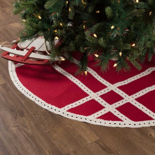 Margot Red Tree Skirt 55