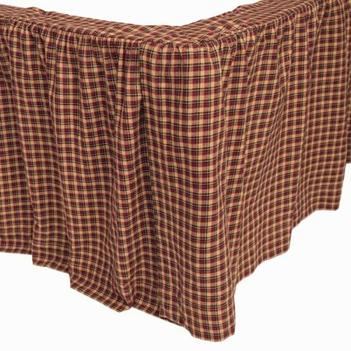 Patriotic Patch Bed Skirt - Queen